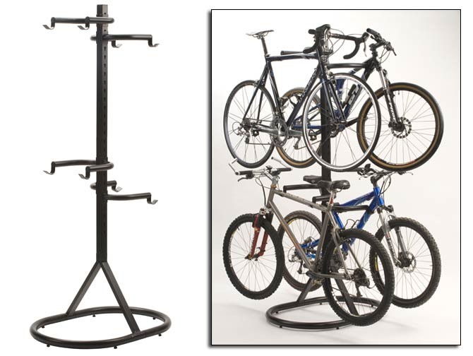 Indoor bike rack free standing bike rack